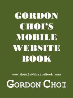 Gordon Choi's Mobile Website Book Cover